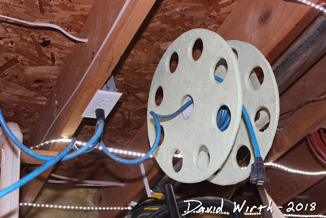 homemade extension cord reel