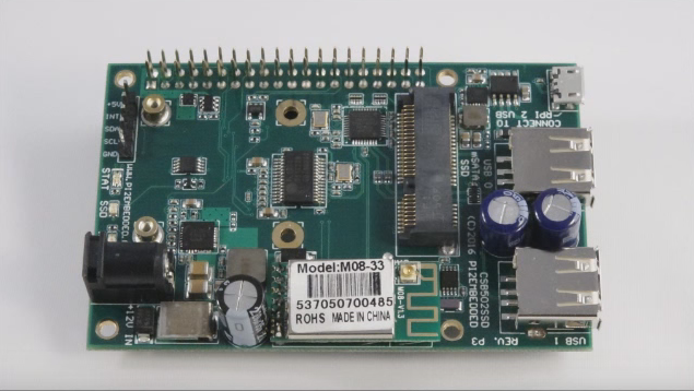 This I/O Shield Converts The Raspberry Pi Two Into A Corporation Terra Firma Elbow Grease In Addition To Wifi Access Point