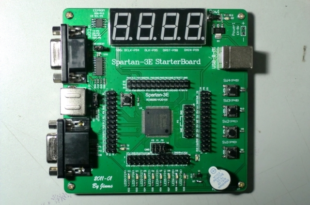 I Embed Therefore Iam: Xilinx Spartan-3E XC3S250-VQ100 FPGA
