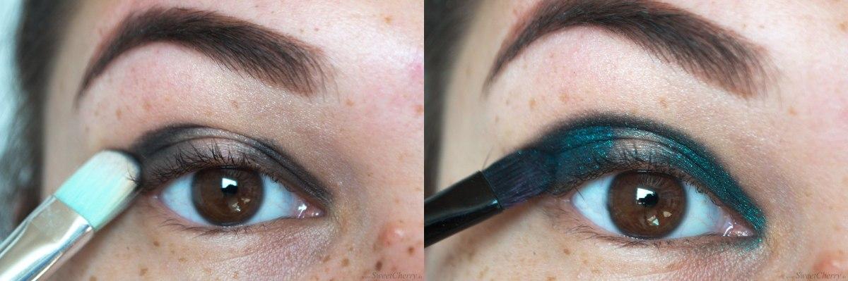 AMUTutorial | Grün Gold Augen-Make-up
