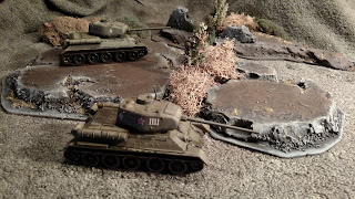 Terrain and T34 Tanks