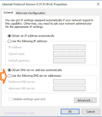 Assign Google DNS Server to Jio Portable 4G Wifi Router