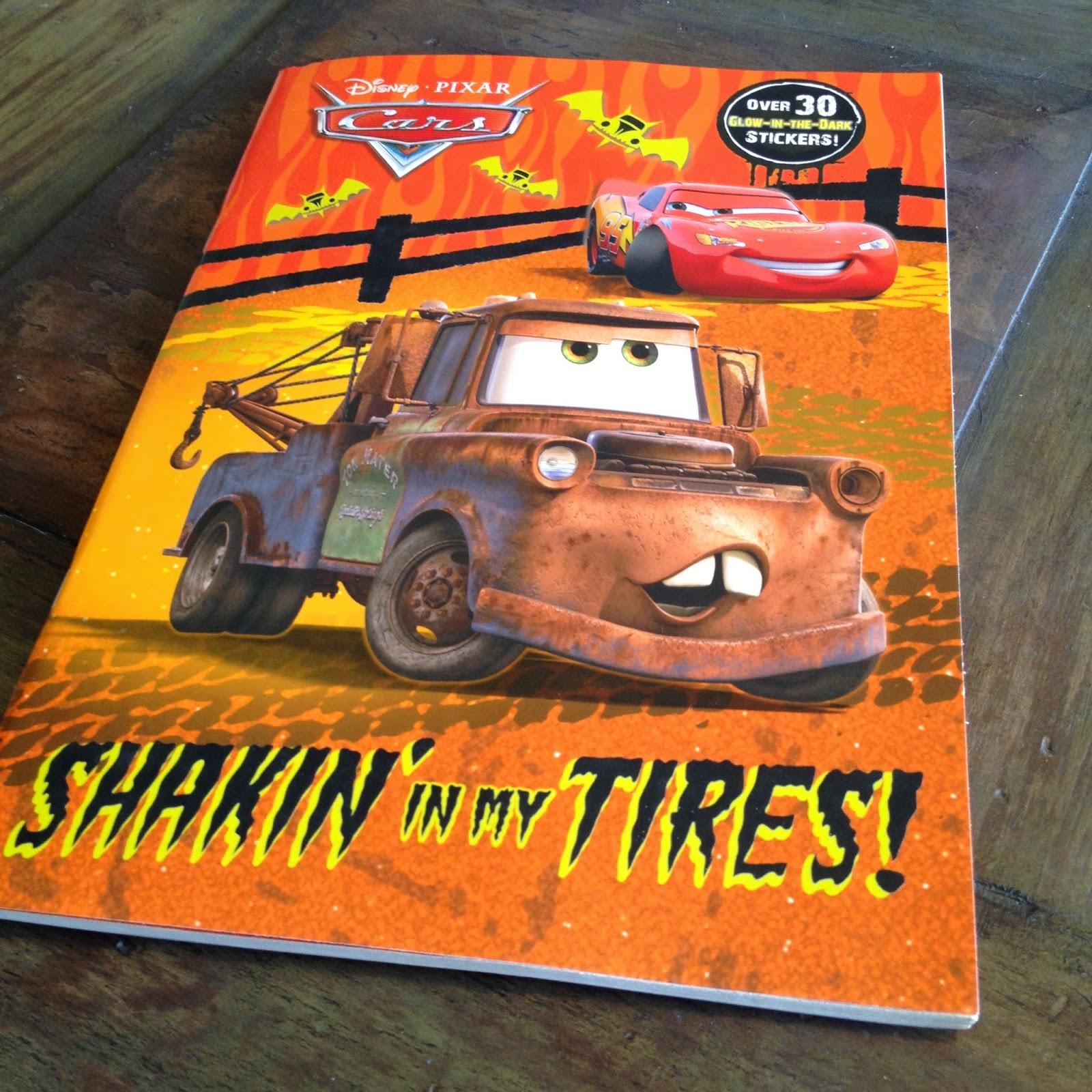 """Dan The Pixar Fan: Cars: Halloween Coloring Book (""""Shakin"""