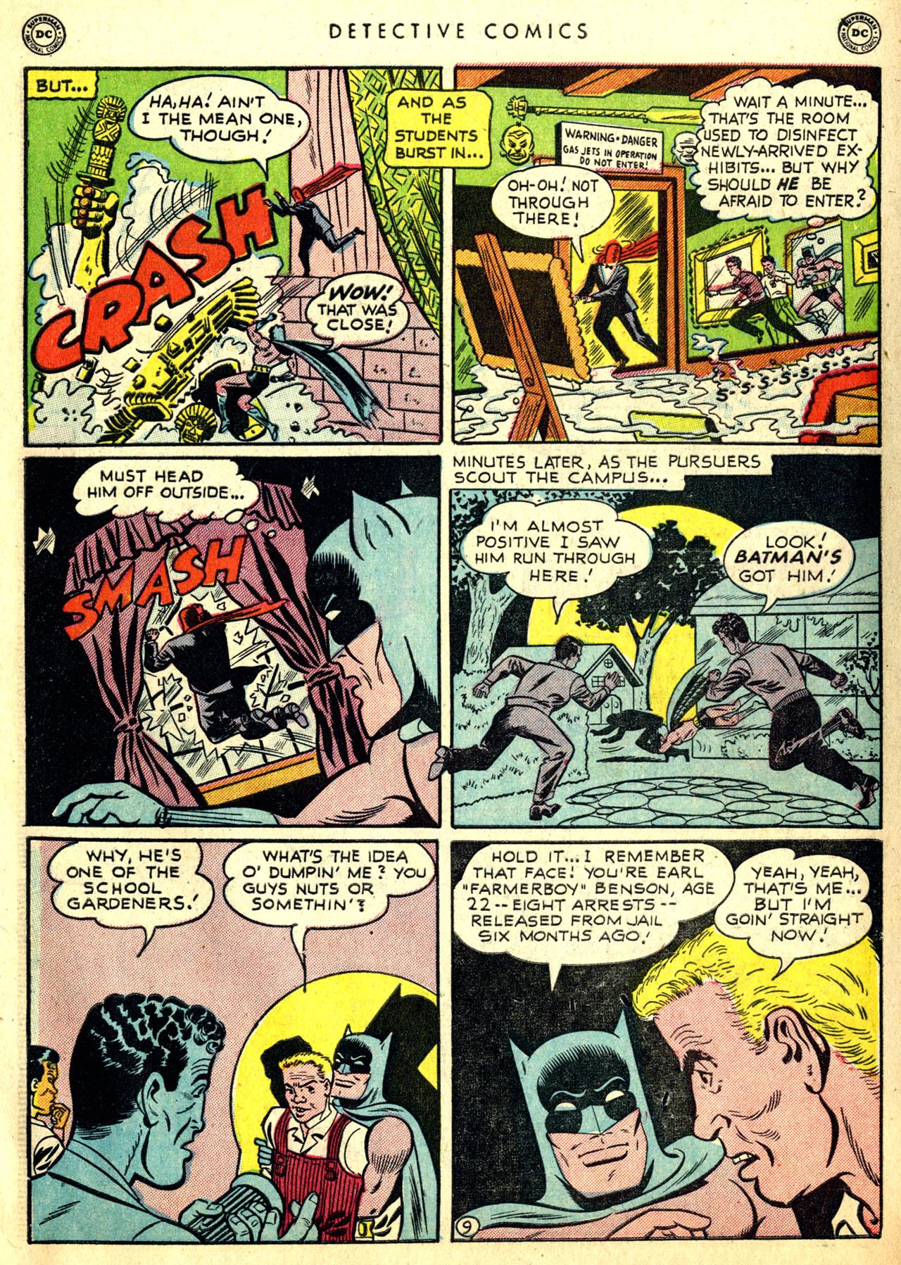Read online Detective Comics (1937) comic -  Issue #168 - 11
