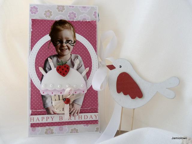 słodki prezent, czyli ozdobny czekoladownik dla Madzi