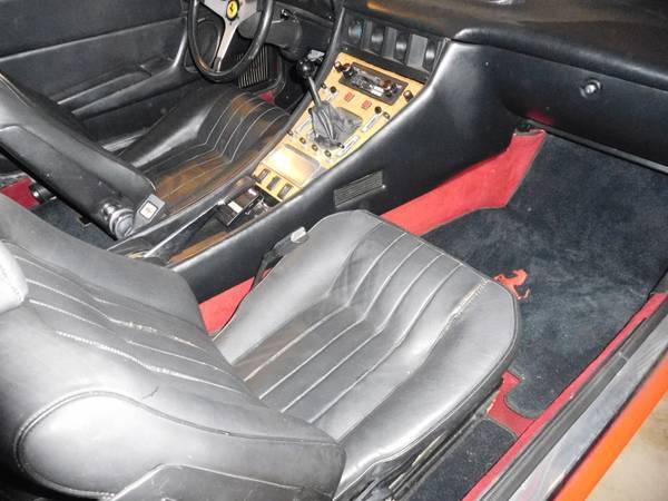 1976 Ferrari 365 GT4 2+2 Interior