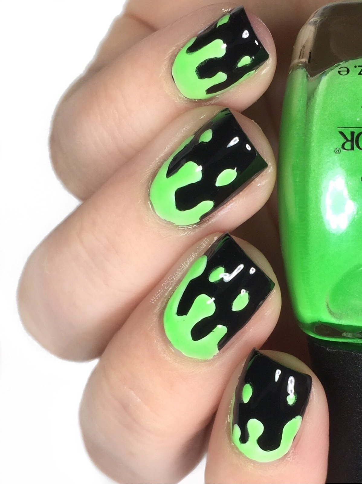 Slime Nail Art