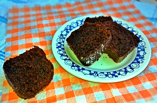 рецепт пирога з какао і буряком