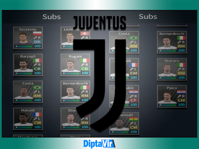 Save-Data-profiledat-DLS-Pemain-Juventus