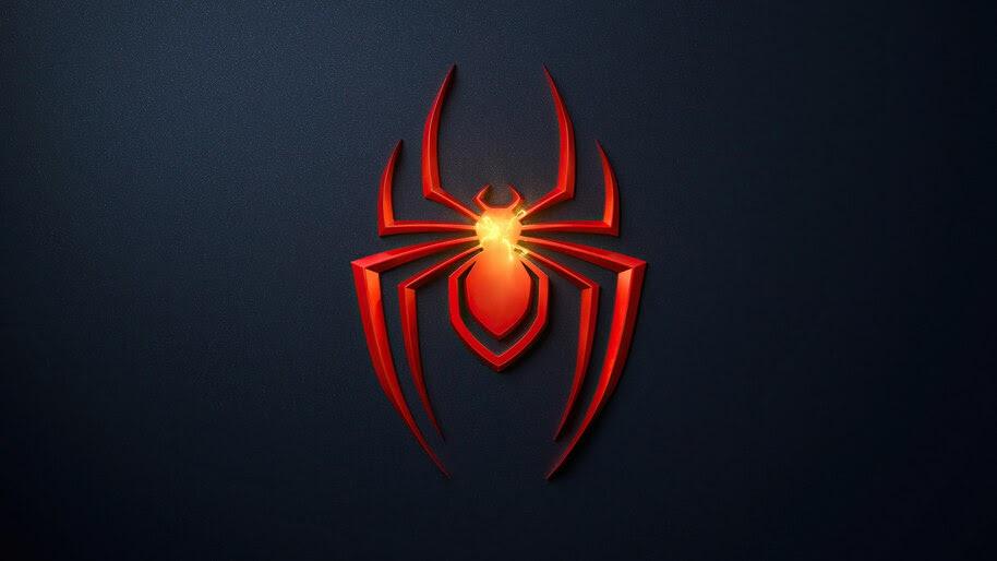 Spider-Man Miles Morales, Logo, PS5, 4K, #5.2061
