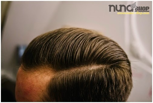 Pemakaian Pomade Murrays Hair Styling atau Minyak Rambut Superior 1