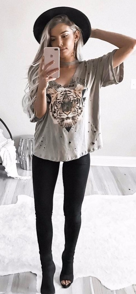 Animal prints / summer outfit inspiration