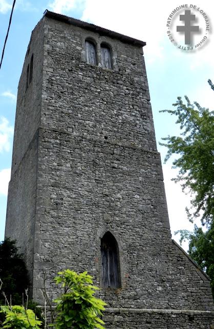 GERBEVILLER (54) - Ancienne église Saint-Pierre