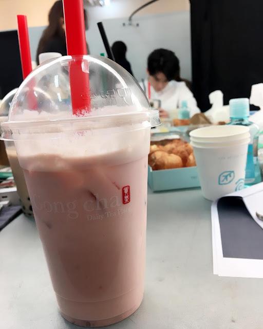李鍾碩拍攝貢茶新廣告-公開花絮照