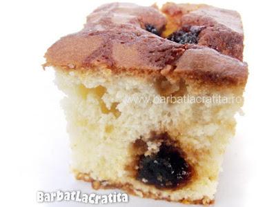 Prajitura cu dulceata taiata (reteta)