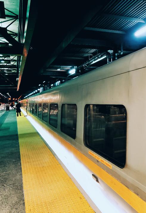 VIA Rail Ottawa Toronto Ontario