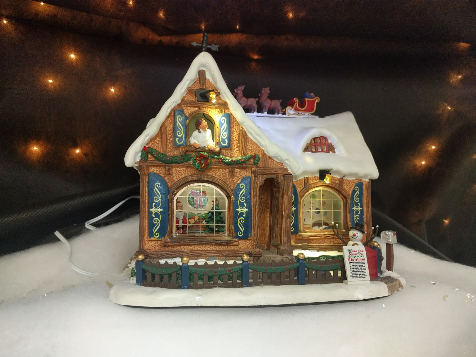 Lemax Twas The Night House - Christmas Village at Menards