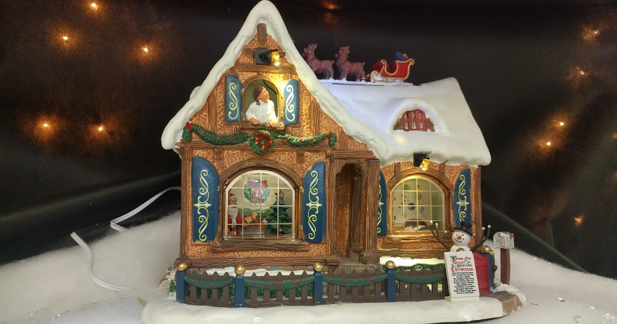 Lemax Twas The Night House Christmas Village At Menards