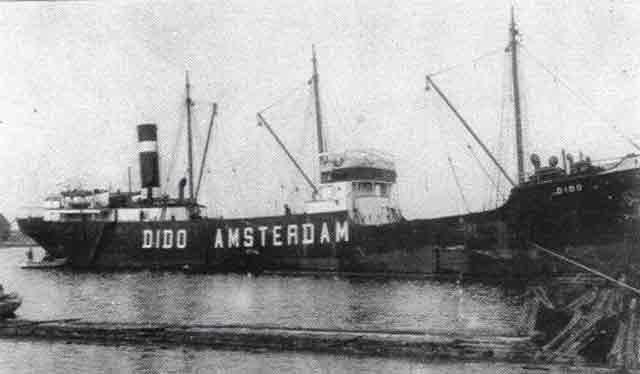Panamanian 744-ton freighter SS C. Jon 5 October 1941 worldwartwo.filminspector.com