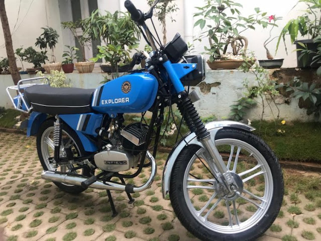 Royal Enfield Explorer Restored