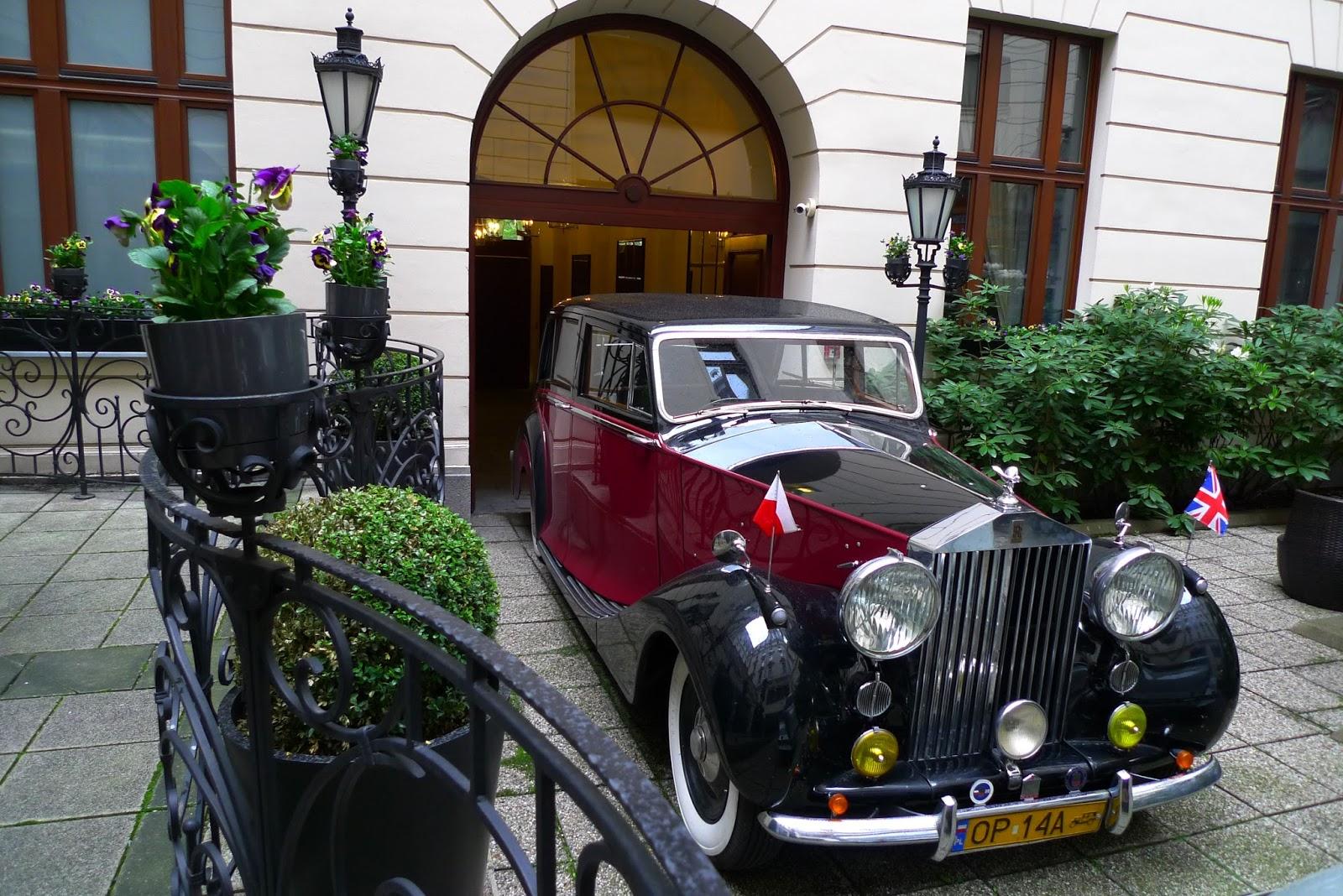 Casual Car Club Ccc Warsaw Poland 4th May 2017 Bristol Hotel