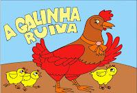 Resultado de imagem para a galinha ruiva