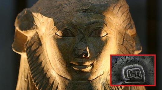 Una segunda esfinge enterrada acaba de ser descubierta en Egipto