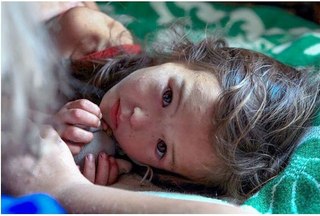 طفلة بقيت تائهة في غابات سيبريا 11 يوم حتى تم العثور عليها !