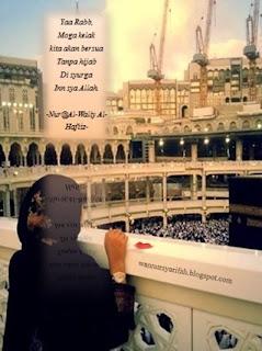Doa Mustajab Didepan Kaabah