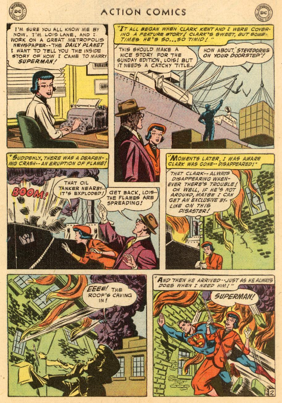 Read online Action Comics (1938) comic -  Issue #206 - 4
