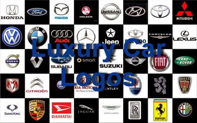 Most Popular Luxury Car Logos