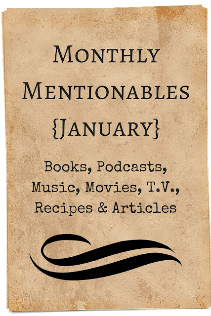 These links and recommendations come from conversations, podcasts and Facebook posts I came across in January. I love lists, so I thought you might enjoy reading about what I stumbled on this month.
