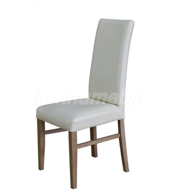 Profilowane krzesło tapicerowane