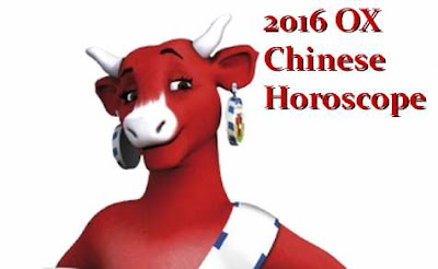 OX Chinese Horoscope forecast February 2016