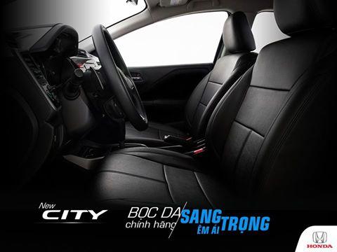 Bọc da chính hãng Honda City –Sang trọng, êm ái