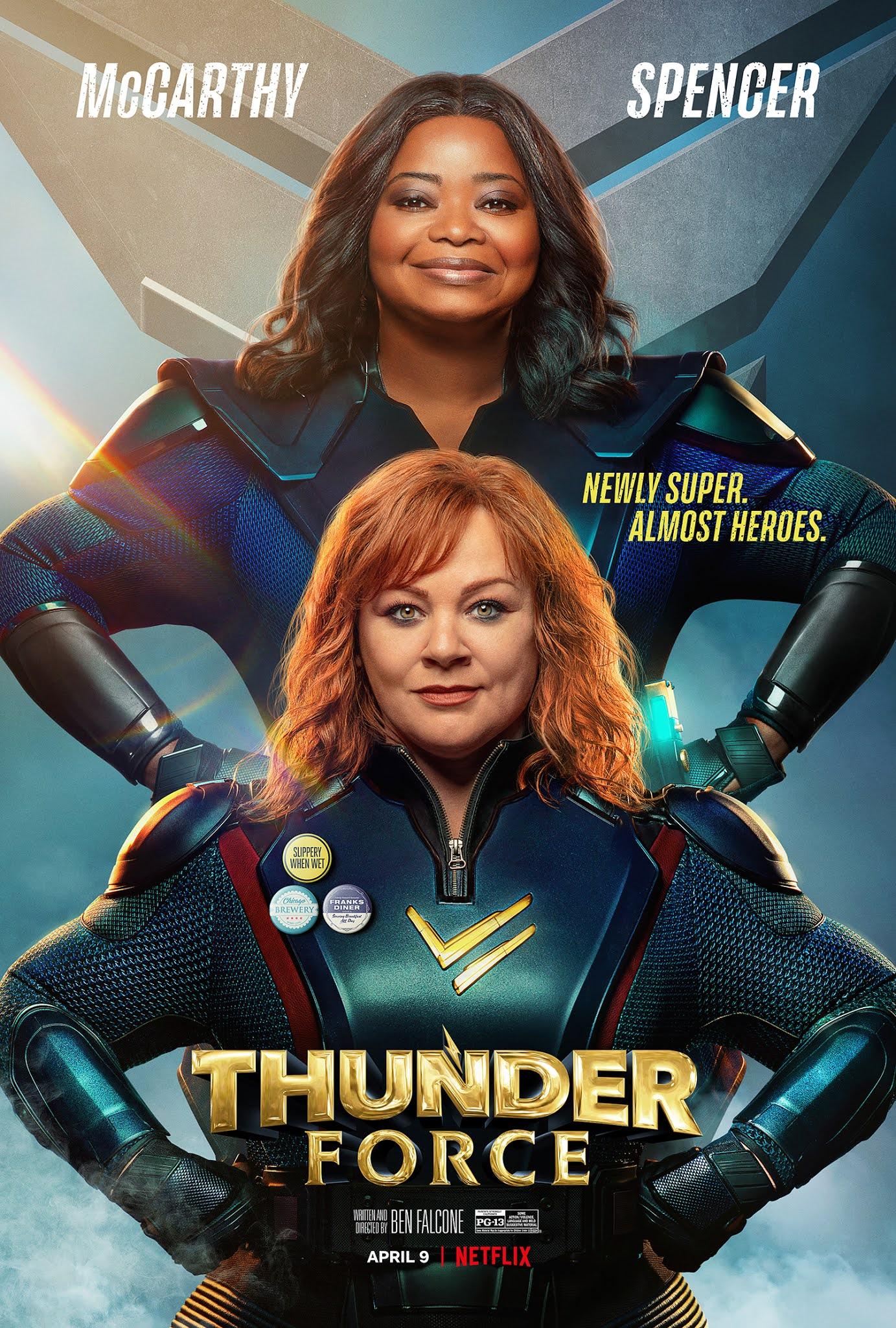 Bộ Đôi Sấm Sét - Thunder Force (2021) (2021)