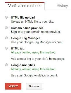 Cara submit sitemap