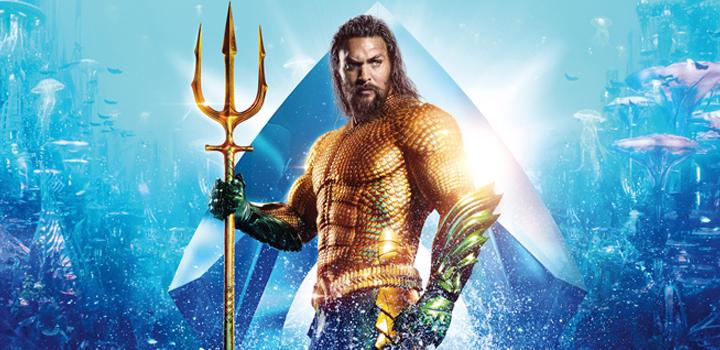 Aquaman 2ª maior arrecadação DC