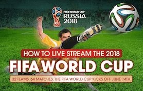 how to stream the 2018 FIFA World Cup