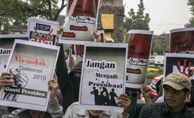 Mengapa Gerakan #2019GantiPresiden Kerap Dipersekusi?