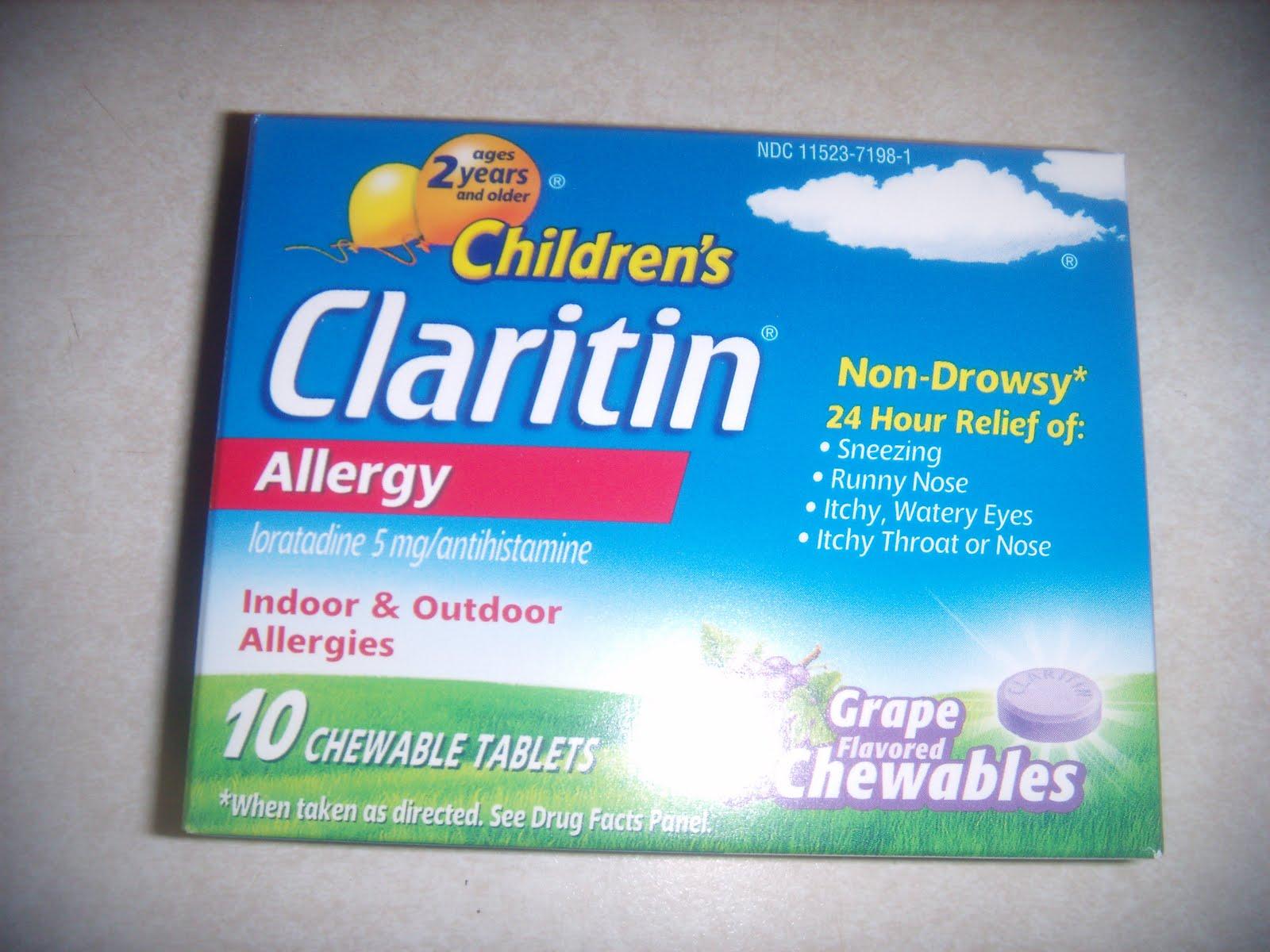 Claritin Cold Sores September 2011