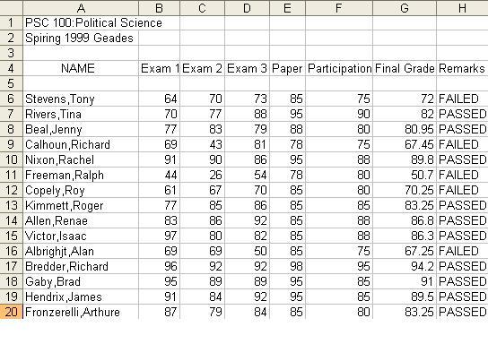 grading sheet | just b.CAUSE