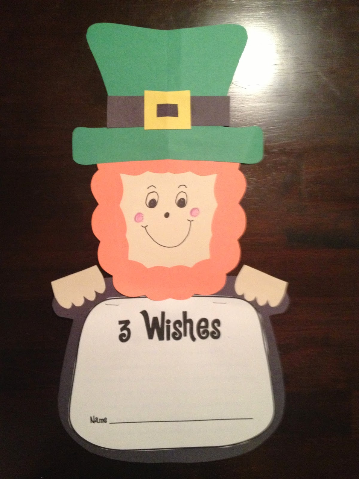 First Grade Smiles St Patrick S Day