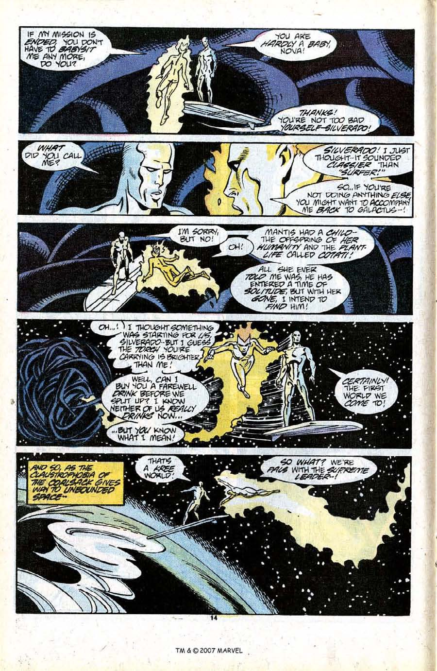 Read online Silver Surfer (1987) comic -  Issue #13 - 16