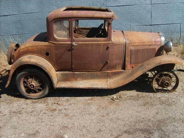 restoration project cars 1930 ford model a coupe. Black Bedroom Furniture Sets. Home Design Ideas