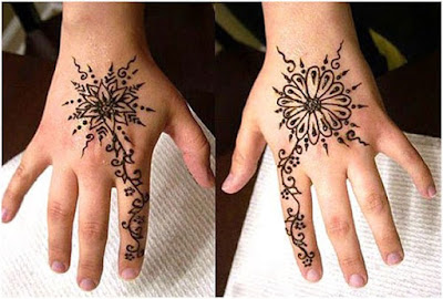 Best collection of mehndi designs 2017 for kids by famous henna artist