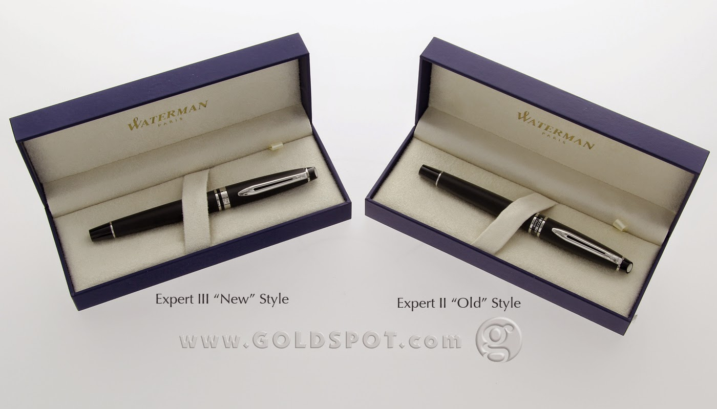 Whats the Difference Between a Waterman Expert II and Expert III
