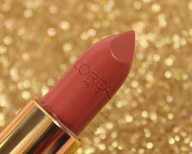 L'Oreal Color Riche Collection Exclusive Lipsticks - Eva's Nude Swatches & Review