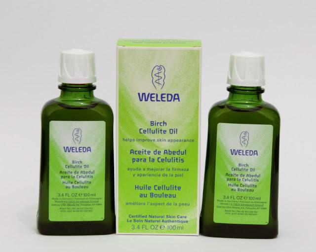 Aceite anticelulitico Abedul de Weleda