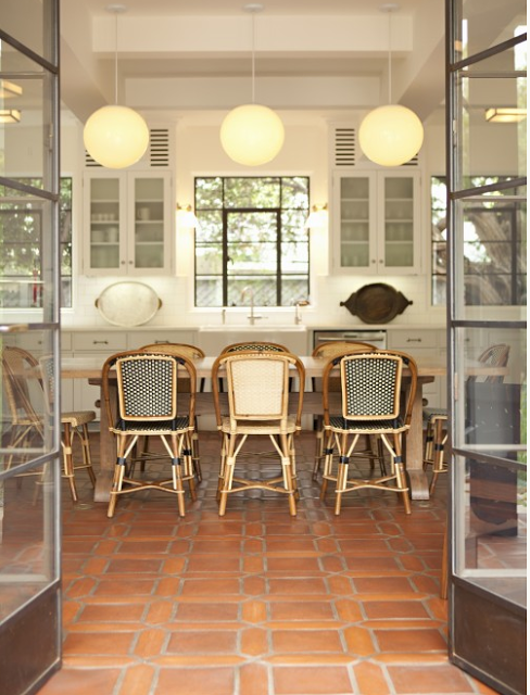 Currently Obsessed French Rattan Bistro Chair Hello